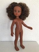 Кукла Нора б/о, 32 см (волосы кудрявые, глаза коричневые), Паола Рейна