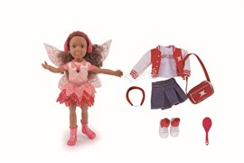 Кукла Джой Kruselings, 23 см (Делюкс набор)