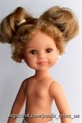 Кукла Клео б/о, 32 см (блондинка, прическа два коротких хвостика, глаза медовые, веснушки), Паола Рейна