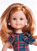 Кукла Клэр б/о, 32 см (медовые волнистые волосы, без челки, боковой пробор, глаза зеленые), Паола Рейна