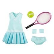 Одежда для тенниса с аксессуарами для куклы Луна Kruselings, 23 см