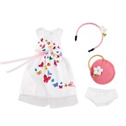 Одежда для праздника с аксессуарами для куклы София Kruselings, 23 см