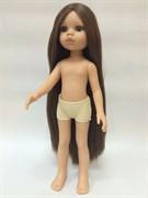 Кукла Кэрол б/о, 32 см (прямые волосы до щиколоток, пробор прямой, глаза карие), Паола Рейна