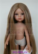 Кукла Карла без одежды, 32 см ( без челки, глаза серо-голубые, волосы до щиколоток, пробор прямой), Паола Рейна