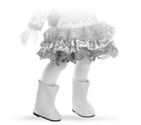 Сапоги белые для кукол 32 см, Паола Рейна