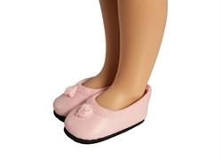 Балетки розовые для кукол 32 см, Паола Рейна