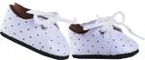 Ботинки белые со шнурками, для кукол 32 см, Паола Рейна