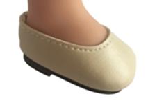 Туфли св. бежевые, для кукол 32 см, Паола Рейна