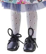 Колготки белые, ажурные для кукол 32 см, Паола Рейна