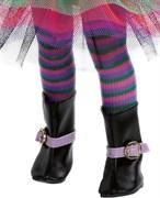 Колготки полосатые, разноцветные для кукол 32 см, Паола Рейна