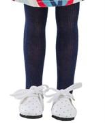 Колготки темно-синие для кукол 32 см, Паола Рейна