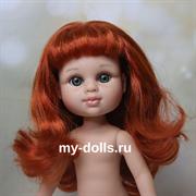 Кукла My girl (Моя девочка) рыженькая, без одежды, 35 см, Berjuan