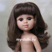 Кукла My girl (Моя девочка) шатенка, без одежды, 35 см, Berjuan