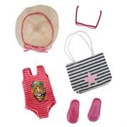 Наряд для пляжной вечеринки для кукол Kruselings, 23 см