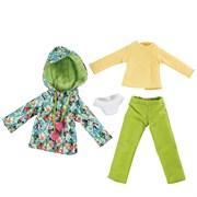 "Утепленный наряд ""Тропики"" для кукол Kruselings, 23 см"