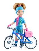 Кукла Даша велосипедистка, 32 см, Паола Рейна