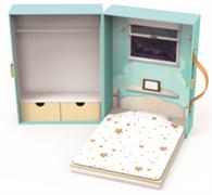 Чемоданчик - комната для кукол Kruselings