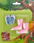 Набор обуви Kruselings (голубые туфли и розовые сапоги), 23 см