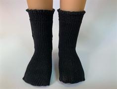 Носочки черные, ажурные для кукол 32 см, Паола Рейна