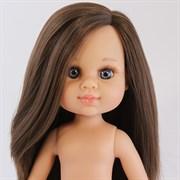 Кукла My girl (Моя девочка) брюнетка с прямыми волосами, без одежды, 35 см, Berjuan