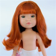Кукла Грета б/о, рыжая с зелеными глазами, 35 см, Berjuan