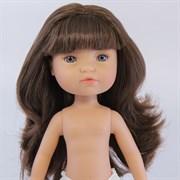 Кукла Грета б/о, шатенка с серо-голубыми глазами, 35 см, Berjuan