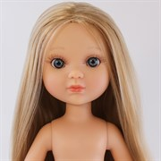 Кукла Ева б/о, рапунцель блондинка с серо-голубыми глазами, 35 см, Berjuan
