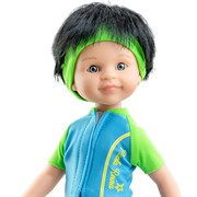 Кукла Кармело велосипедист, 32 см, Паола Рейна