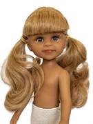 Кукла Клео латина б/о, 32 см (2 хвостика, челка, глаза серые), Паола Рейна