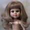 Кукла My girl (Моя девочка) блондинка, без одежды, 35 см, Berjuan - фото 7842